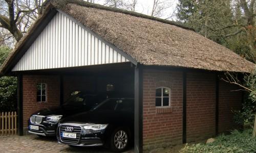 Hausbau -Bauarbeiten rund ums Haus - Carport