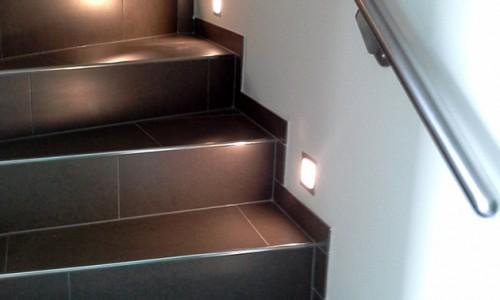 Hausbau - Bauarbeiten rund ums Haus - Treppe